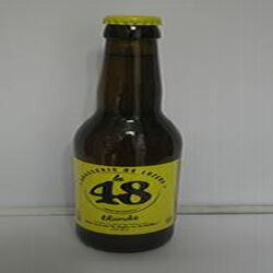 Bière blonde la 48 BRASSERIE DE LOZERE 5% Vol., 33cl