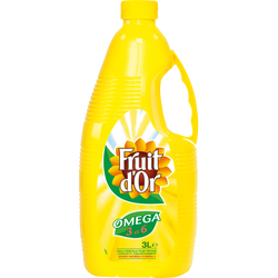Huile de tournesol FRUIT D'OR, 3l