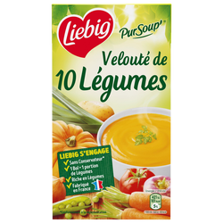 Pursoup velouté 10 légumes LIEBIG, 1l