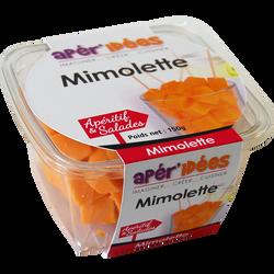 Dés de mimolette au lait pasteurisé APER'IDEE, 30%mg, 150g