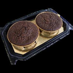 Mini moelleux au chocolat, L'ATELIER GEORGET, 2 pièces, 140g