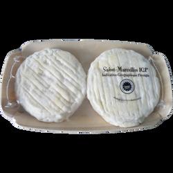 Saint Marcellin au lait cru Indication Géographique Protégée 18%mg, 2x80g