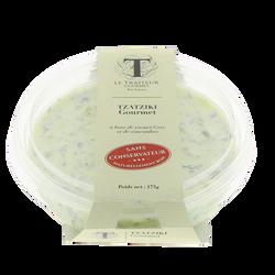 Tzatziki au yaourt Grec, sans conservateurs, le traiteur gourmet, 180g