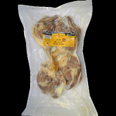 Cuisse de canard gras confite, IGP du Sud Ouest, MAISTRES OCCITANS, 4pièces, 770g