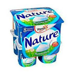Yaourts natures fermes, YOPLAIT, 8x125g