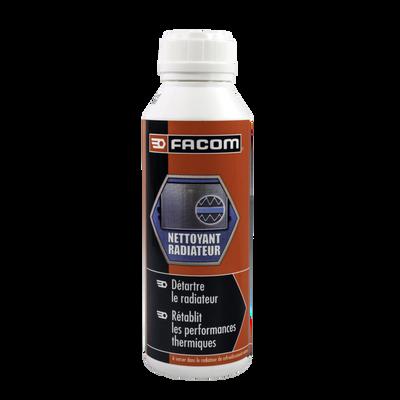 Traitement spécifique circuit de refroidissement du moteur, FACOM,nettoyage efficace radiateur, pompe à eau, thermostat... et du circuitde chauffage d'habitacle
