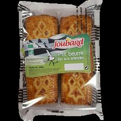 P'tit beurre bio aux amandes, BISCUITERIE JOUBARD, paquet de 250g