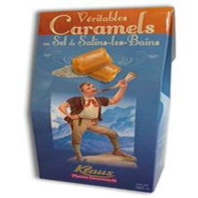 CARAMEL AU SEL DE SALINS LES BAINS, KLAUS, SACHET, 160G