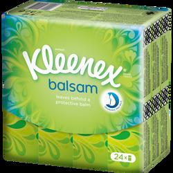 Mouchoirs balsam KLEENEX, 24 étuis