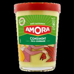 Condiment AMORA, verre décor TV, 190g