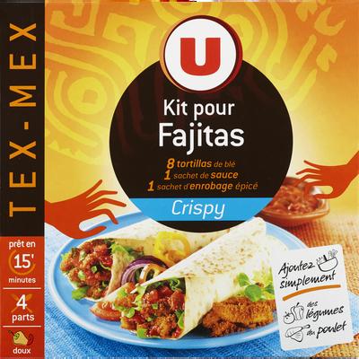 Fajitas crispy kit U, 530g