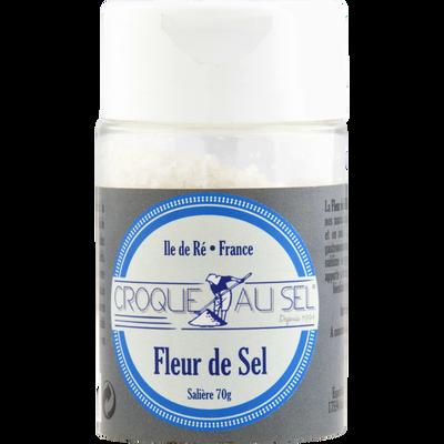 Fleur de sel croque au sel salière ESPRIT DU SEL, 70g
