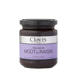 Moutarde au mout de raisin CLOVIS, 200g