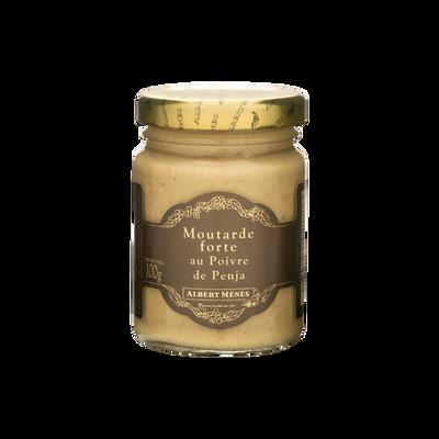 Moutarde forte au poivre de Penja ALBERT MENES,100g