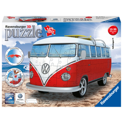 Puzzle 3D Combi Van T1 Volkswagen RAVENSBURGER 162 pièces