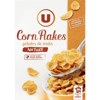 Corn Flakes U, paquet de 375g
