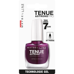 "Vernis à ongles ""Tenue et strong"" n°270 ever burgundy - blister MAYBELLINE"
