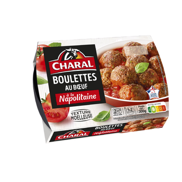 Charal Boulette De Boeuf Napolitaine, Charal, France, 300g