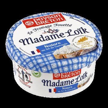 Paysan Breton Fromage Fouetté Nature Au Sel De Guérande Lait Pasteurisé Mme Loik Paysan Breton, 24%mg, 320g