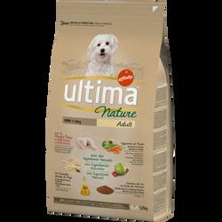 Croquettes pour chiens minis au poulet ULTIMA NATURE, 1,25kg
