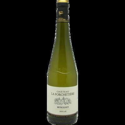 """Vin blanc Muscadet AOP sur Lie """"Château la Forchetière"""", 75cl"""