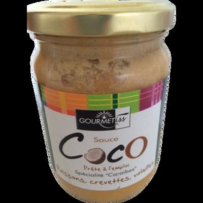 Sauce coco GOURMETISS, bocal de 240g