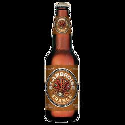 Bière ST-AMBROISE à l'érable 4,5°, bouteille 341 ml