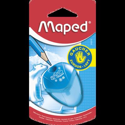Taille crayon à réservoir MAPED Igloo, 1 trou, spécial gaucher