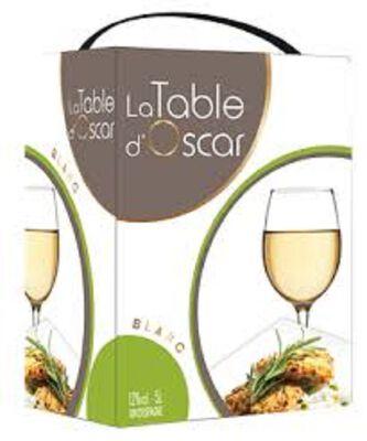LA TABLE D'OSCAR BLANC 5 L