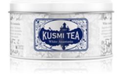 WHITE ANASTASIA BOÎTE METAL 90G - KUSMI TEA