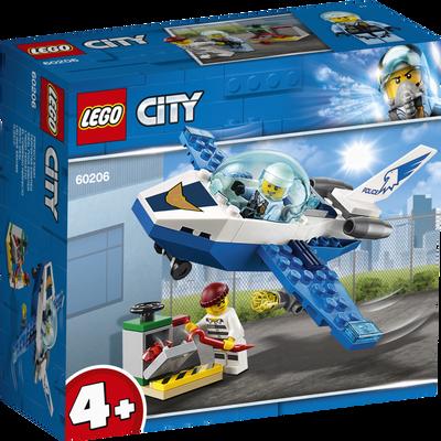 Le jet de patrouille de la police LEGO City