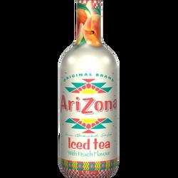 Thé glacé pêche ARIZONA, bouteille de 1,5l