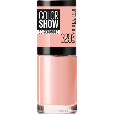 Vernis à ongles colorshow 329 canal street MAYBELLINE, nu
