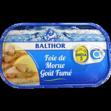 Foie de morue BALTHOR, boîte de 123g