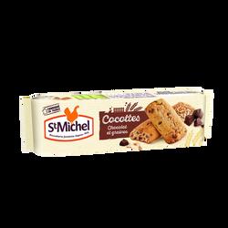 Biscuits Cocottes au chocolat et graines ST MICHEL, 140g