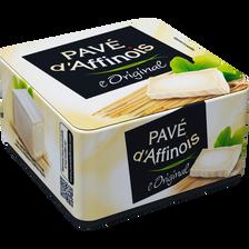 Pavé d'Affinois Fromage Au Lait Pasteurisé L'original Pave D'affinois, 20% De Mg, 200g