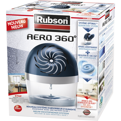 Absorbeur d'humidité Aéro 360° RUBSON
