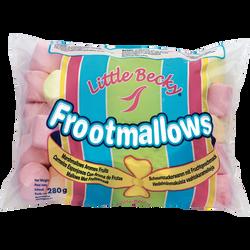 Marshmallows aux fruits LITTLE BECHY, 280g