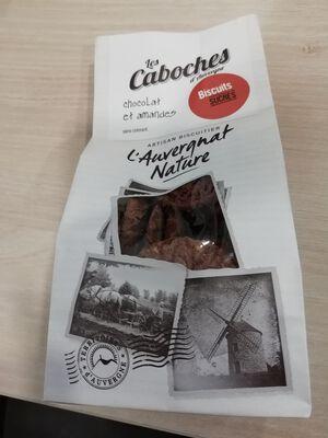 Gaboches d'Auvergne Chocolat Amande artisan bicuitier Saint Rémy de Chargnat 140g