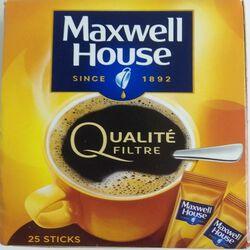 Q.FILTRE MAXWELL HOUSE STICK 45G