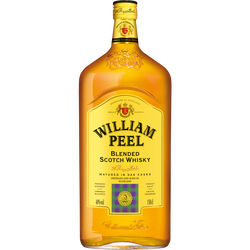 Scotch whisky Blend OLD WILLIAM PEEL, 40°, bouteille de 1,5l