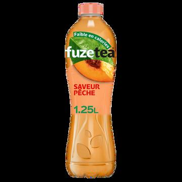 Fuze Tea Boisson Au Thé Fuzetea Pêche Intense - Bouteille 1,25l