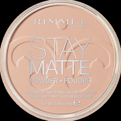 Poudre matifiante stay matte 003 peach glow RIMMEL, blister