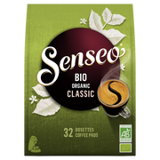 Maison du Café Senseo Intense Bio Organic, X32 Soit 222g