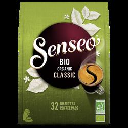 SENSEO intense bio organic, x32 soit 222g
