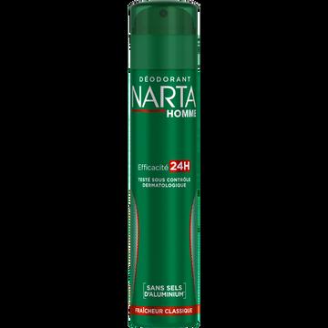 Narta Déodorant Pour Homme Classique Fraîcheur Narta, 200ml