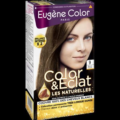 Coloration crème permanente EUGENE COLOR, Sophia, blond foncé n°9