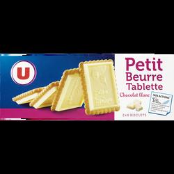 Petit beurre chocolat blanc U, 150g