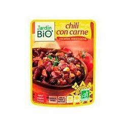Chili con carne recette mexicaine JARDIN BIO, pochon de 250g