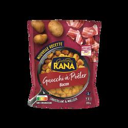 Gnocchis à poeler bacon RANA, sachet de 270g